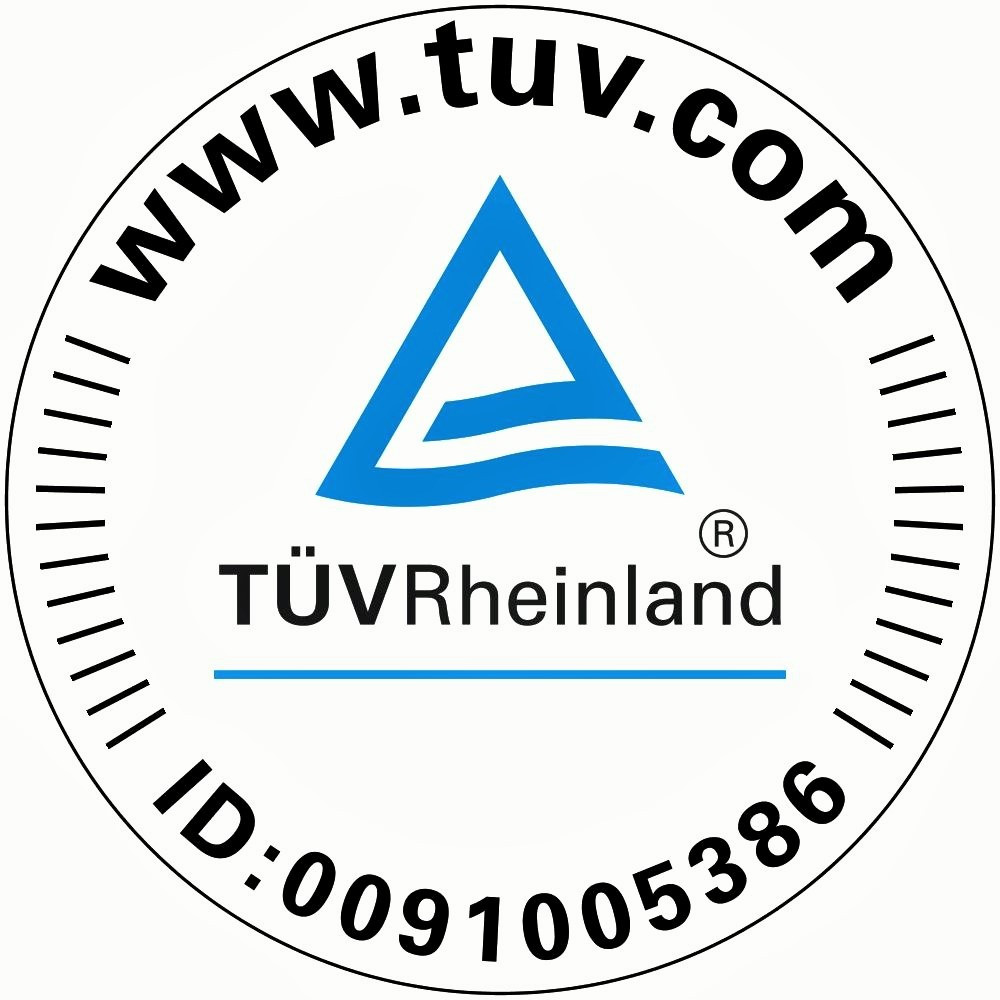 TÜV-Zertifikat der Ridder Möbelspedition in Wesel
