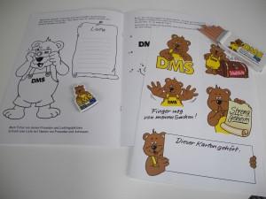 Malbuch von DMS - Umziehen mit Kindern - Ridder Wesel