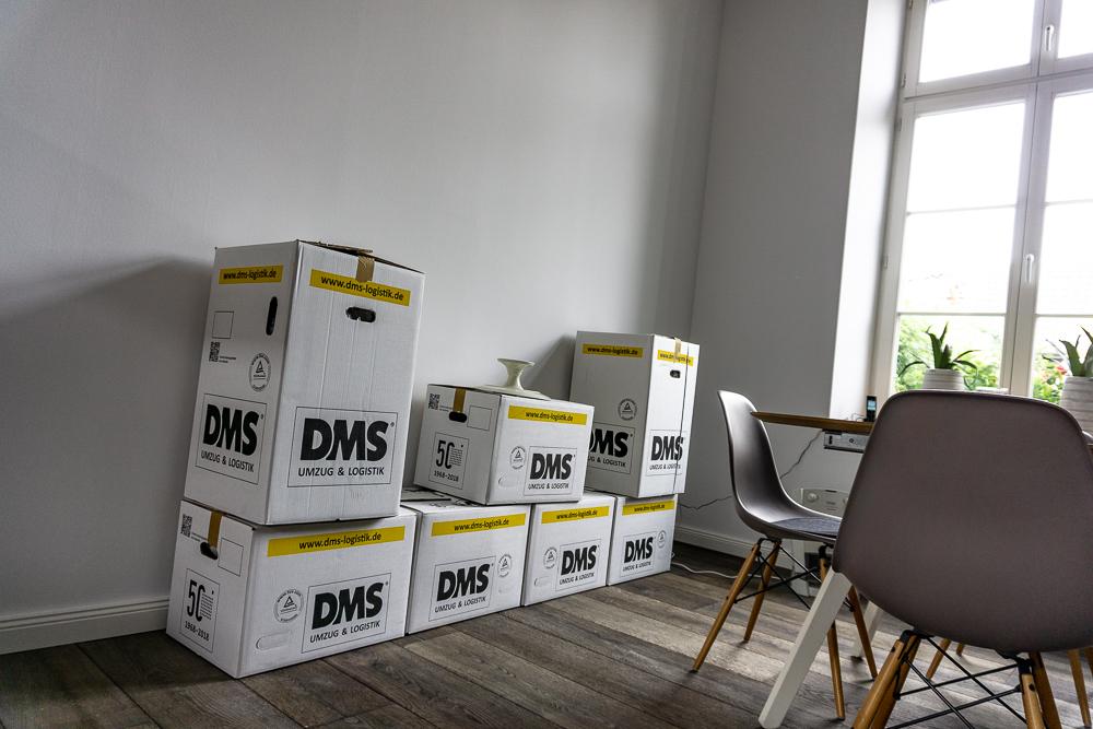 Umzugsbericht – umziehen mit DMS